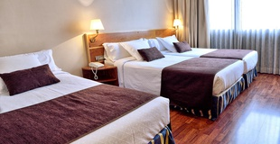 CHAMBRE TRIPLE STANDARD Hôtel HLG CityPark Pelayo